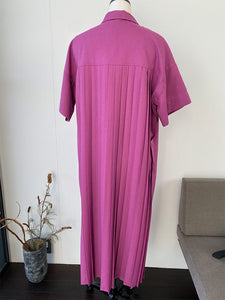 [SAMPLE]BACK PLEAT SHIRT DRESS