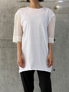 FLOWER OPTICAL T-SHIRT