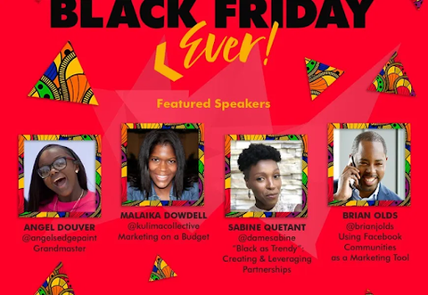 Black Friday Virtual Expo by Thee Cultural Exchange