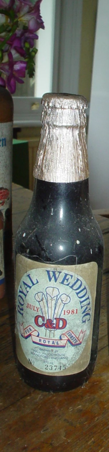 1981 Royal Wedding Ale - Benson Fine Wines