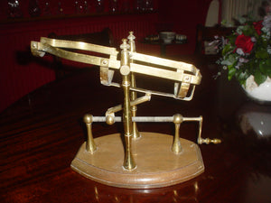 1930's Wine bottle decanting Cradle - Benson Fine Wines
