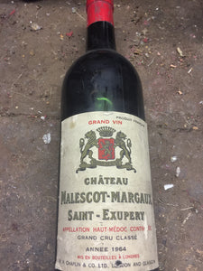 1964 Chateau Malescot Margaux Saint Exupery - Benson Fine Wines