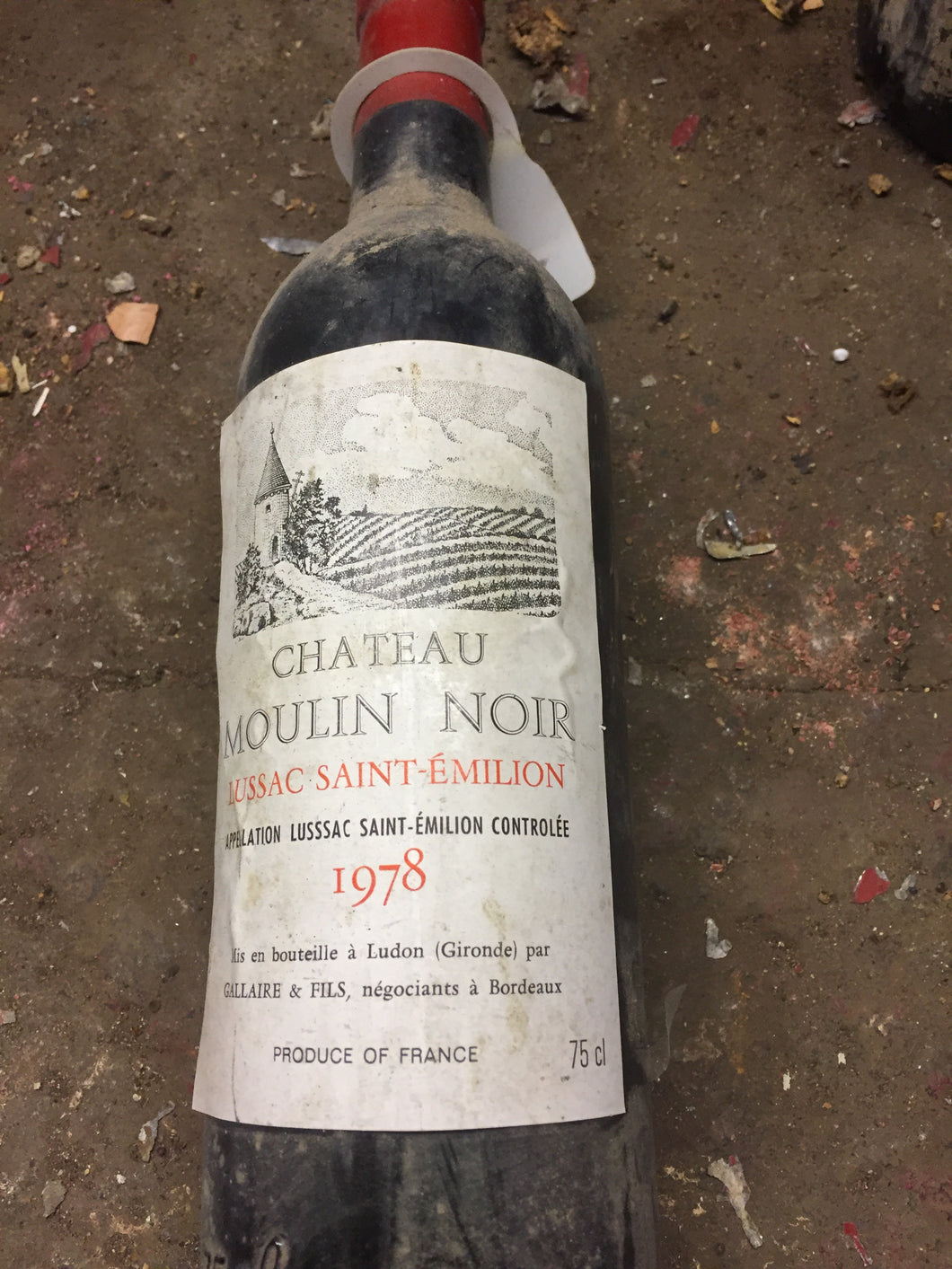1978 Chateau Moulin Noir - Benson Fine Wines