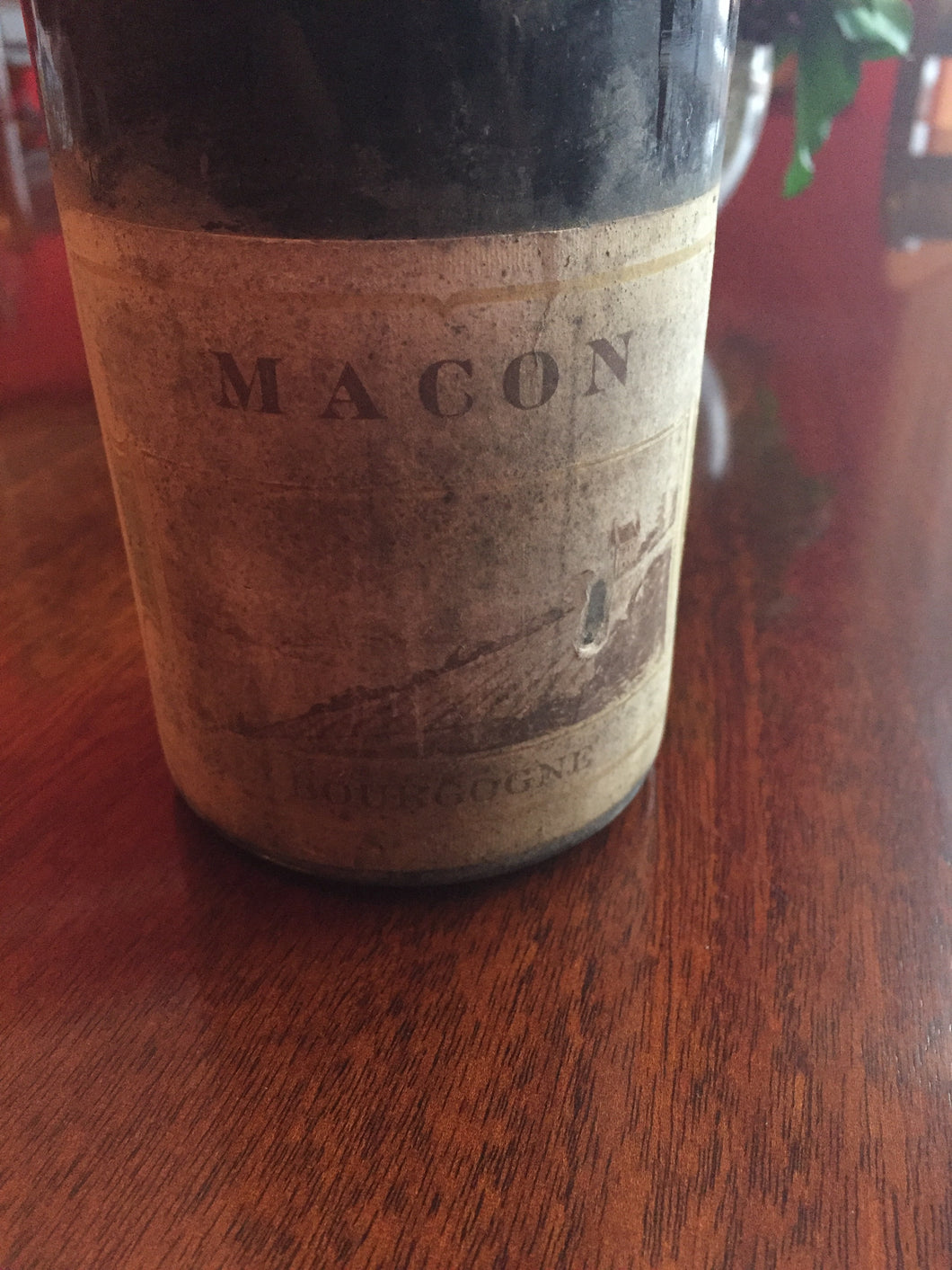 1929 Macon Rouge - Benson Fine Wines