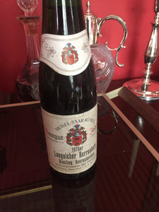 1976 Longuicher Herrenberg Riesling Beerenauslese - half bottle