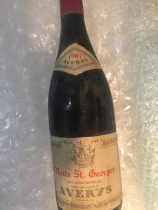 1967 Nuits St  Georges - Benson Fine Wines