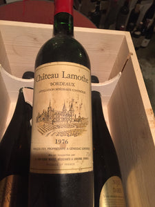 1976 chateau Lamothe - Benson Fine Wines