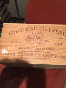 1989 Chateau Olivier Blanc Sec - Benson Fine Wines