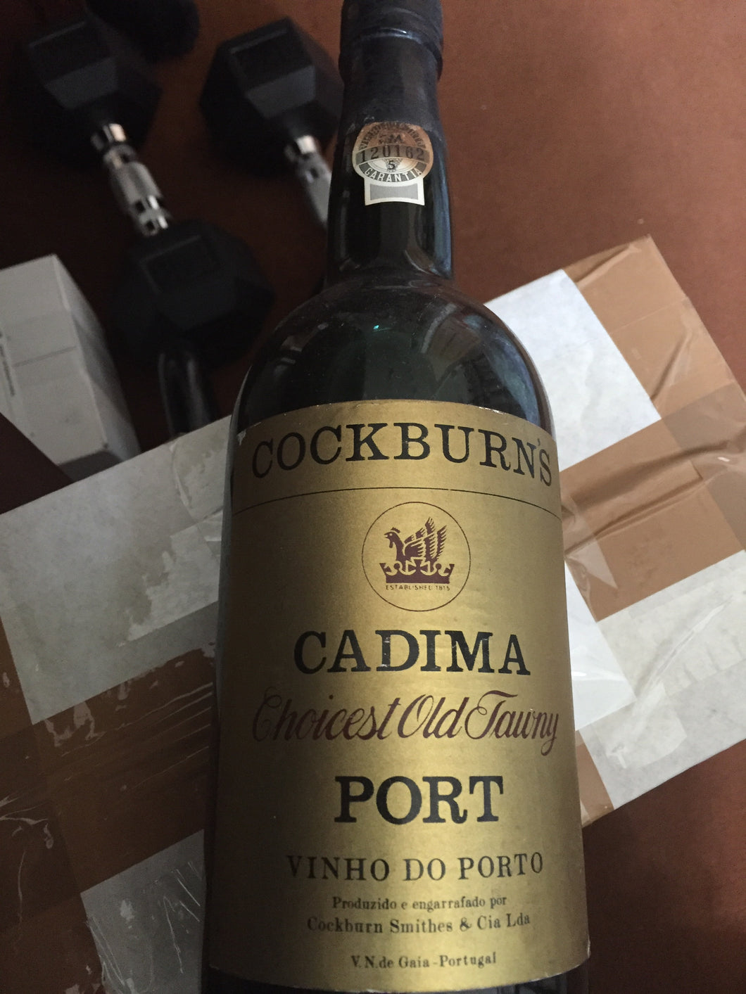 Cockburn Cadima Choicest Old Tawny Port - Benson Fine Wines