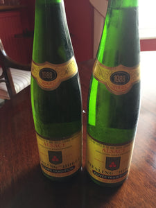 1988 Hugel Riesling Cuvee Tradition - Benson Fine Wines