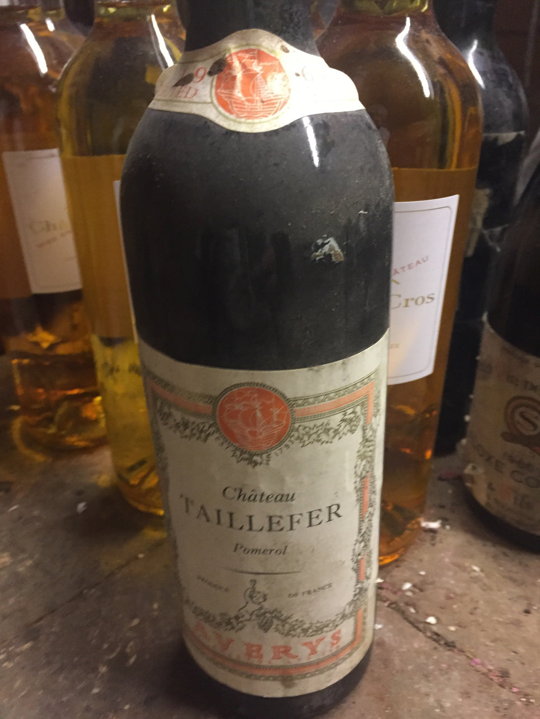 1964 Chateau Taillefer - Benson Fine Wines