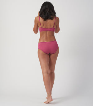 Plum Triangle Bra