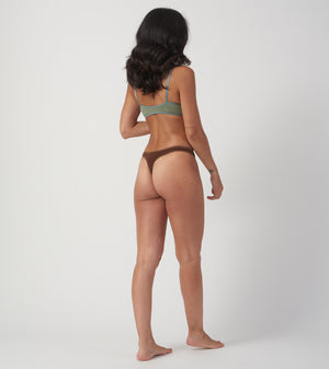 Chocolate Thong