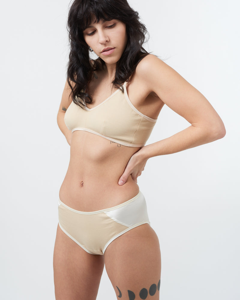 Wheat Triangle Bra