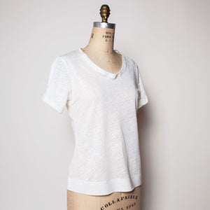 Linen Slouch Tee