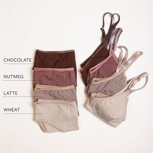 Latte Triangle Bra