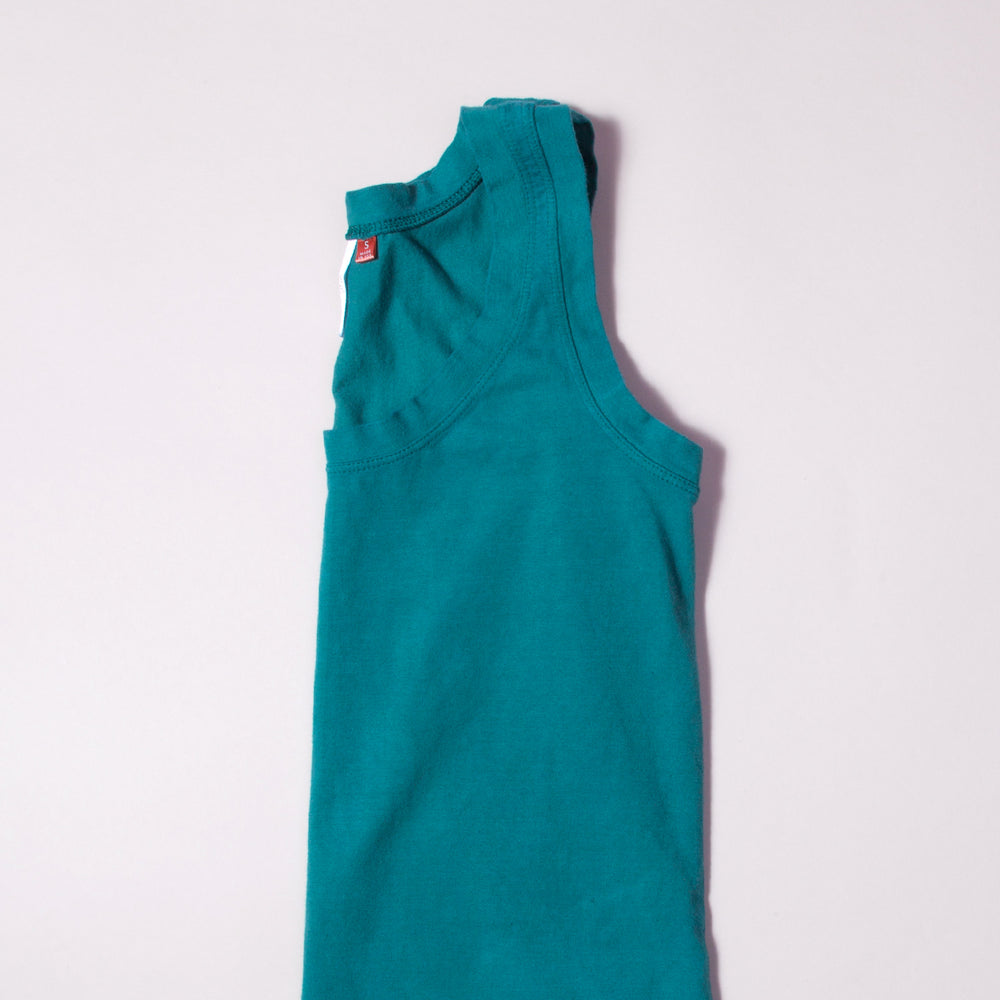 Pine Green Organic Cotton Tank Top