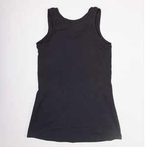 Black Organic Cotton Tank Top