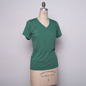 Myrtle Organic Cotton V-Neck Tee