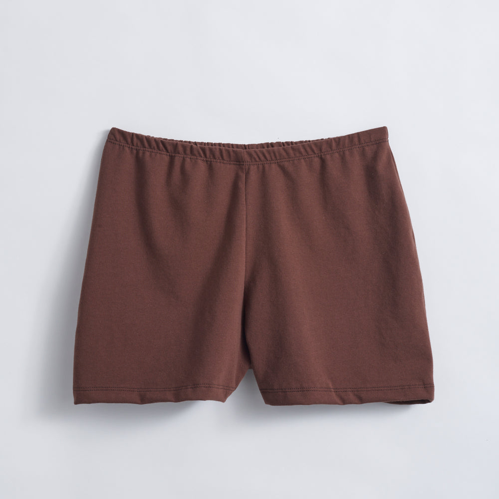 Chocolate Organic Jersey Short