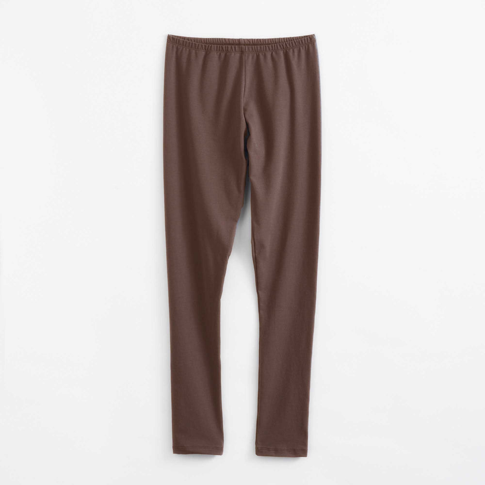 Chocolate Organic Cotton Legging