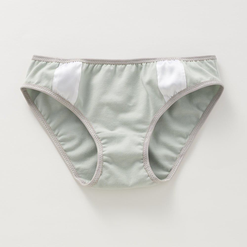 Silk on Sage Bikini Undie