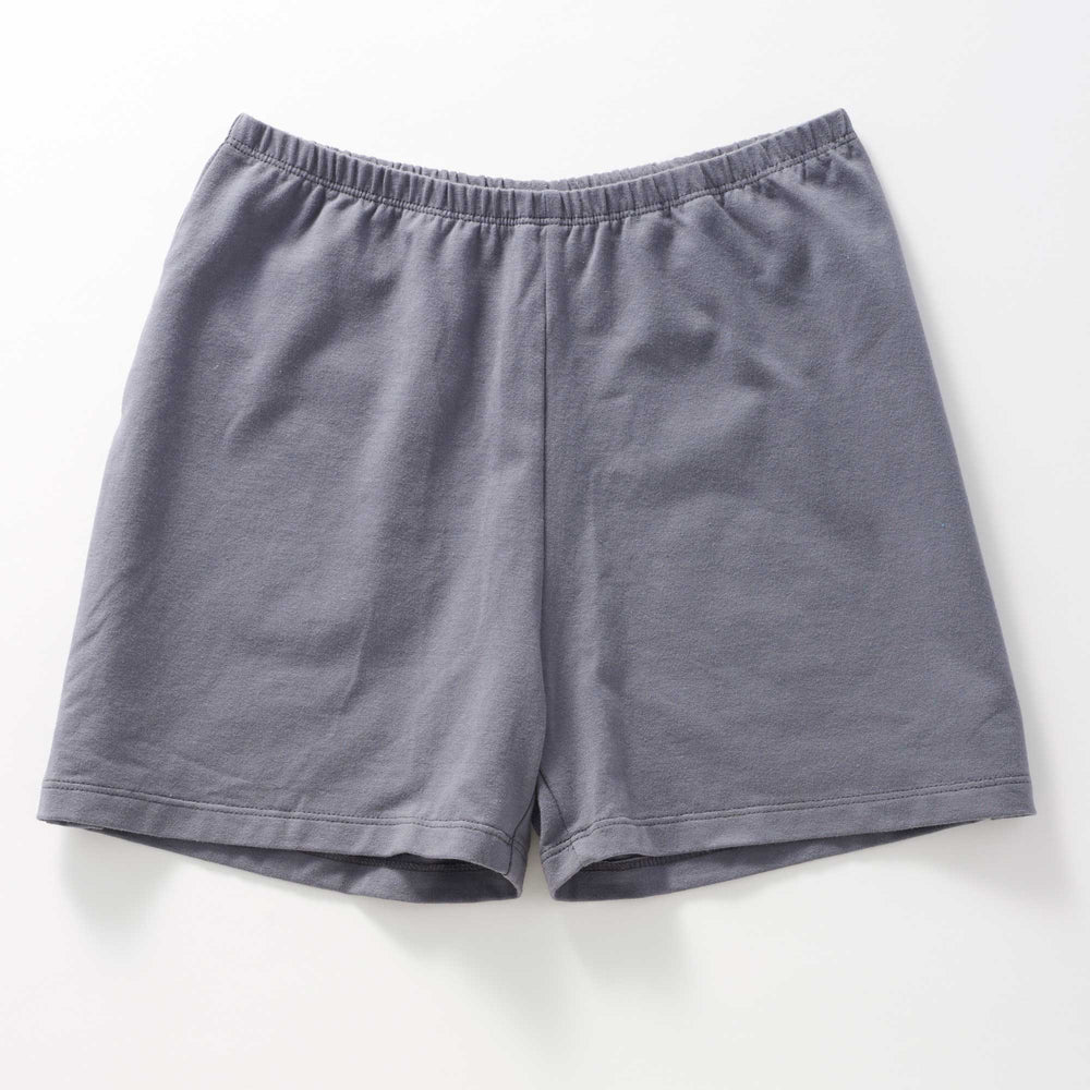 Slate Organic Cotton Jersey Short