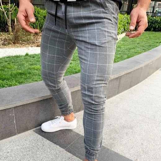 Slim Fit Joggers in Grey