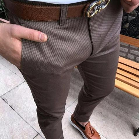 Smart Trousers in Brown