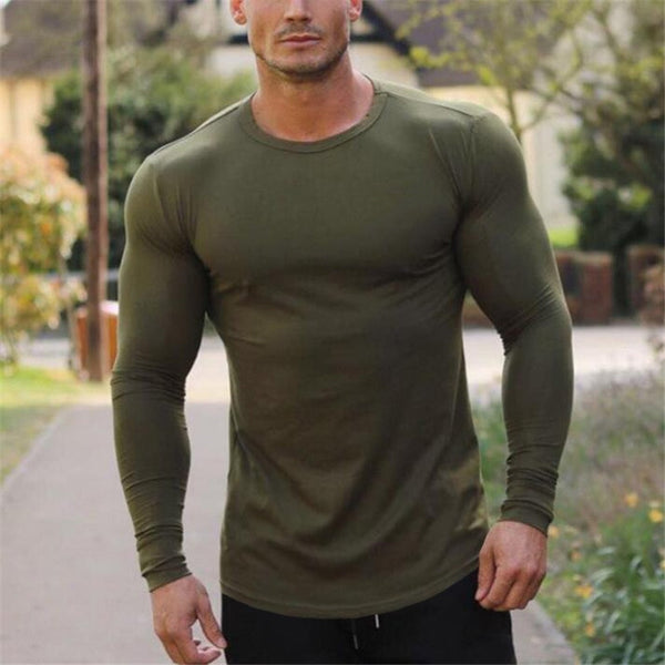 Long Sleeve Top in Green