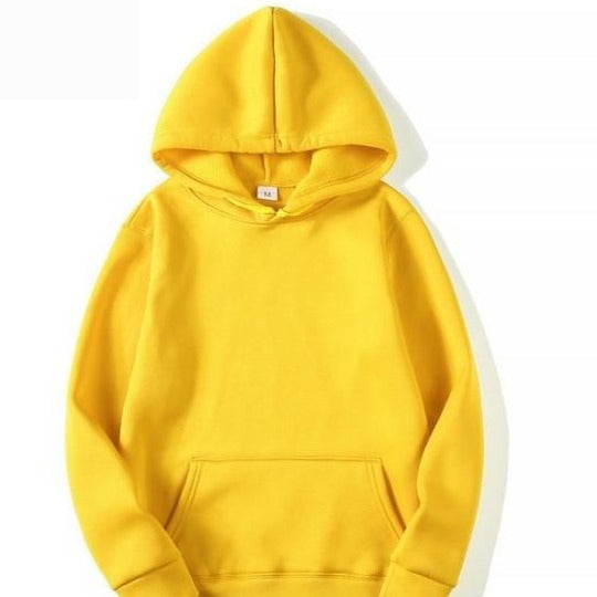 Hoodie in Yellow