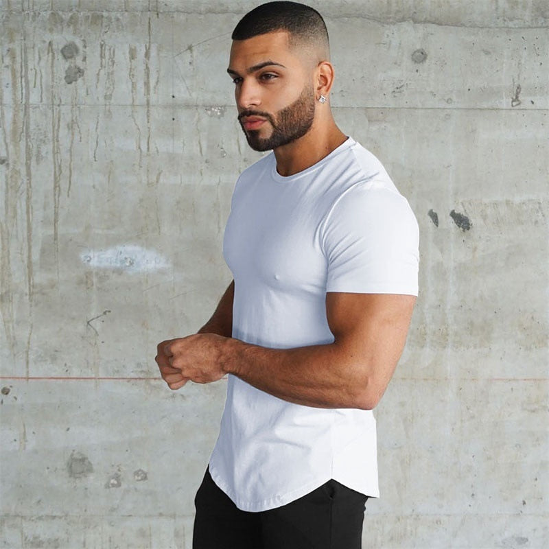 Muscle Fit T-Shirt in White