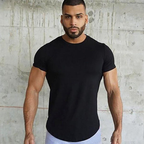 Muscle Fit T-Shirt in Black