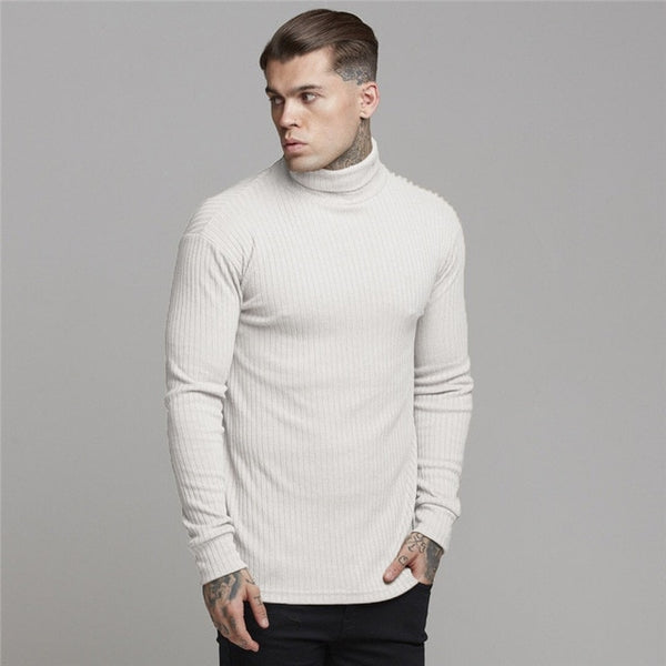 Slim Fit Jumper in White