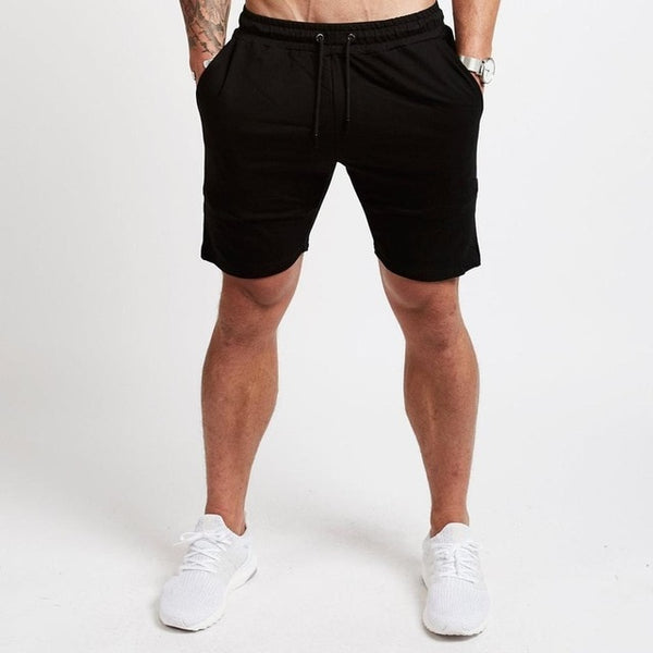 Jogger Shorts in Black