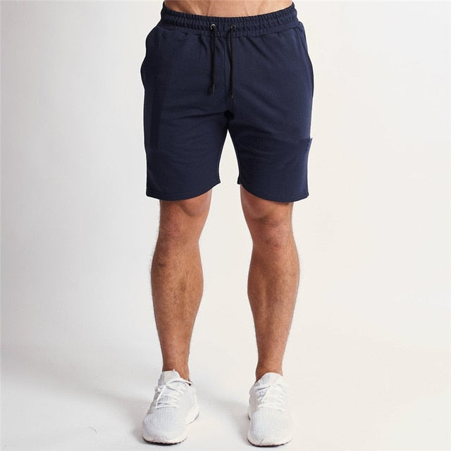 Jogger Shorts in Blue