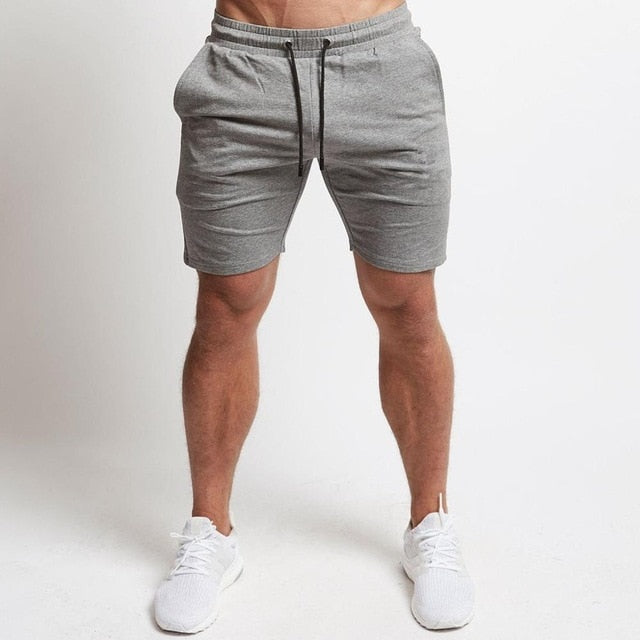 Jogger Shorts in Gray
