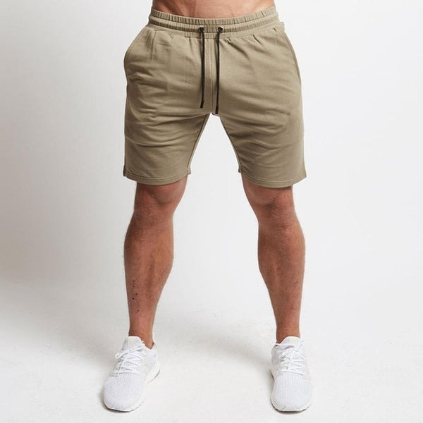 Jogger Shorts in Khaki