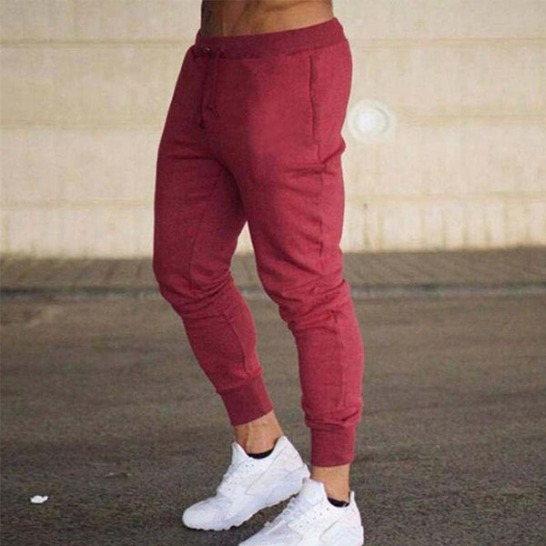 Jogger Pants in Red
