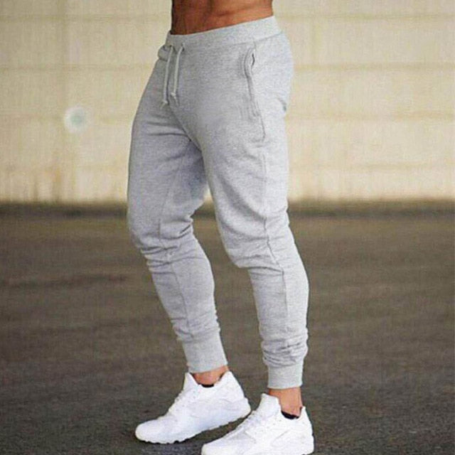 Jogger Pants in White
