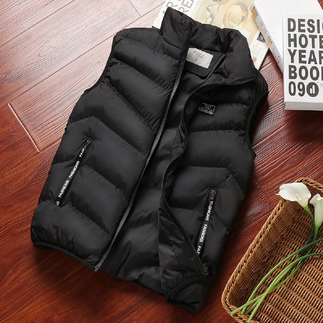 Insulated Vest in Black