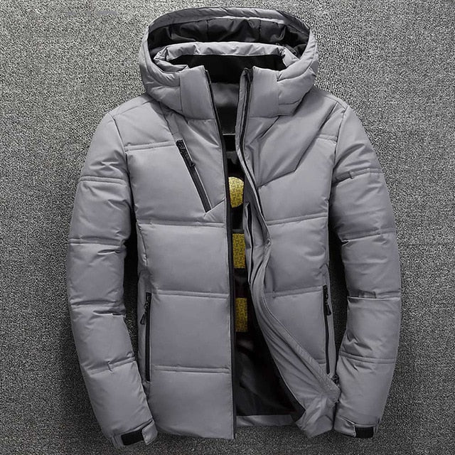 Insulated Jacket in Gray