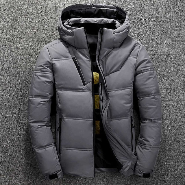Insulated Jacket in Dark Gray