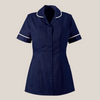 Memory Women's Round Collar Sailor Navy Classic Healthcare Tunic