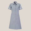Farleigh Striped Revere Collar Lightweight Dress in Tall