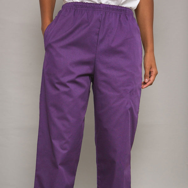 Howser Casey Unisex Elasticated Smart Scrub Trousers in Tall
