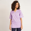 Casey Unisex Smart Scrub Tunic with Contrast Trim