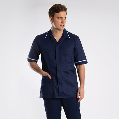 Globe Men's Sailor Navy Classic Healthcare Tunic
