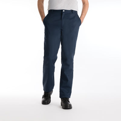 Camden Men's Flat Front Workwear Trousers in Extra Tall