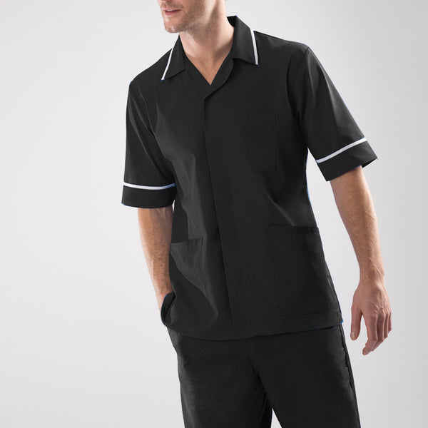 Richmond Men's Dark Coloured Lightweight Healthcare Tunic
